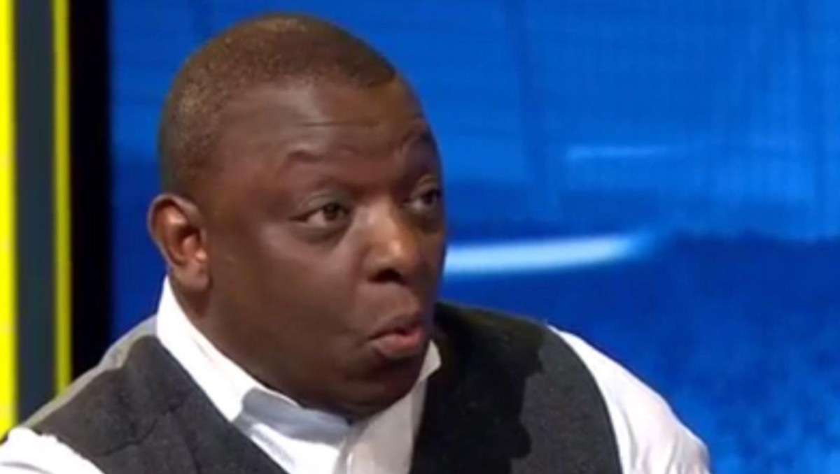 Spurs legend Garth Crooks (Photo: Screengrab / BBC Sport)