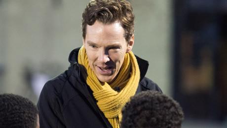 Laureus Awards 2018: Benedict Cumberbatch, host for 'Sporting Oscars', visits Sport for Good Programme