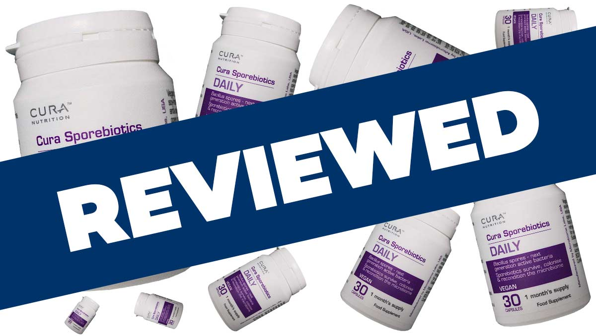 Cura Sporebiotics Review Probiotic Large