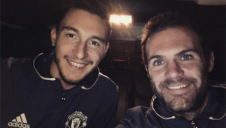 Matteo Darmian states his prediction for Man United v Anderlecht