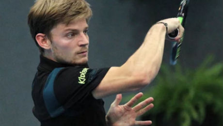 David Goffin wins first title in three years in Shenzhen to keep up bid for London finale