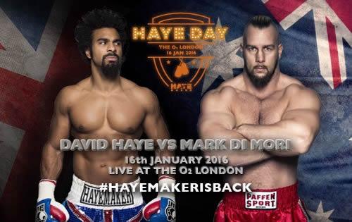 david haye comeback