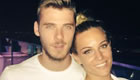De Gea enjoys romantic holiday
