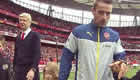 Debuchy shares Arsenal lap of honour snaps