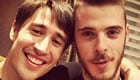 De Gea hangs out with injured Krkic