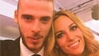 De Gea snaps selfie with pop star girlfriend