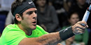 ATP World Tour Finals 2012: Del Potro beats Federer to reach semis