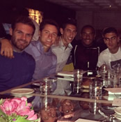Photo: Man Utd's new signings eat out on Champions League night
