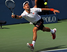 Djokovic top seed at US Open ahead of Federer