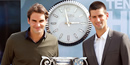 ATP's top men Federer and Djokovic celebrate birth of the rankings