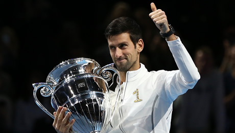 Djokovic, Nadal and Federer are the tennis triumvirate yet again