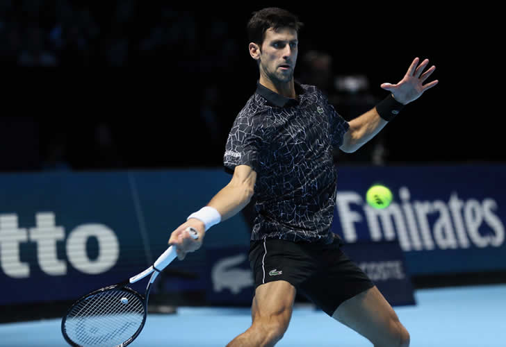 ATP finals: Djokovic crushes Isner in straight sets