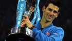 Djokovic downs Federer for record 4th straight title
