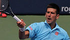 Photo: Novak Djokovic thanks fans after 'flying' victory