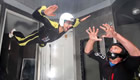 Picture special: Novak Djokovic flying high in Dubai wind tunnel