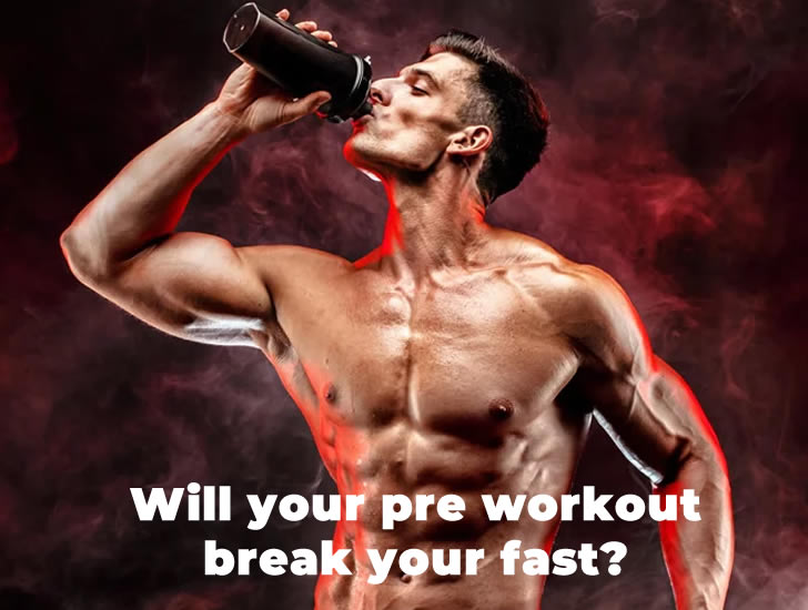 Does a pre workout break your fast? - The Sport Review