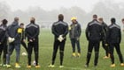 Photos: Borussia Dortmund 'warm up' in Regent's Park ahead of Arsenal clash