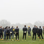 Dortmund train at Regent's Park ahead of Arsenal clash