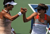US Open 2014: Double delight, courtesy of over-30s Date-Krumm, Hingis & Pennetta