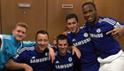 Chelsea players react to cup win on Twitter
