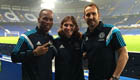 Photo: Filipe Luis joins Chelsea veterans for Stamford Bridge snap