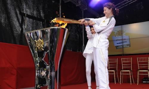 dublin olympic flame