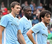 Don't write Man City off in title race, Edin Dzeko warns Liverpool