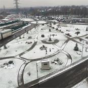 Photo: Man City striker Edin Dzeko takes in icy Moscow
