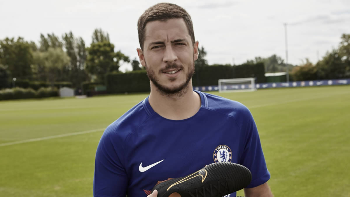 Eden Hazard says he wouldn't follow Zinedine Zidane to Man United