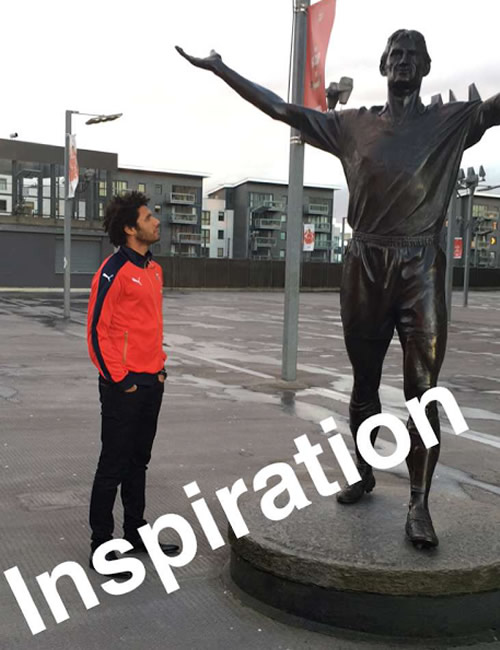 mohamed elneny tony adams
