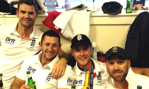 Ashes win