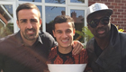 Photo: Liverpool defender poses with golden boy Philippe Coutinho