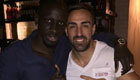 Enrique and Sakho all smiles for photo