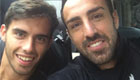 Photo: Liverpool's Jose Enrique and Suso 'ready' for West Ham trip