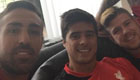 Enrique snaps selfie with Liverpool stars