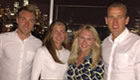 Tottenham stars enjoy New York with their girlfriends