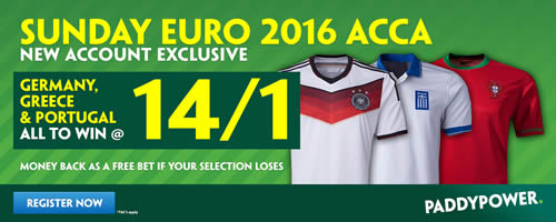 euro 2016 betting enhanced odds