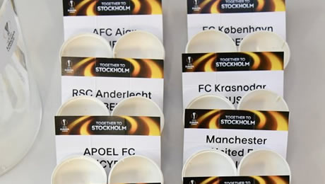 Europa League draw: Man United learn their opponents in the last 16