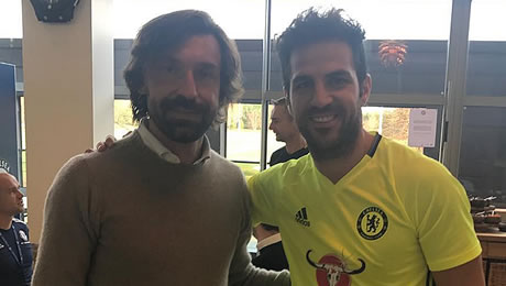 Photo: Cesc Fabregas reacts to Chelsea milestone on Instagram