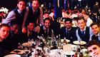 Photo: Cesc Fabregas all smiles with Chelsea stars at awards night
