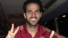 Fabregas snaps selfie to celebrate his Spain record