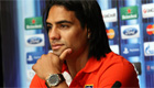 Falcao's agent aims dig at Man Utd boss Van Gaal