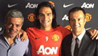 Photos: Man Utd unveil new signing Radamel Falcao