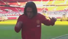 Watch Man Utd's Radamel Falcao train at Old Trafford – without a ball