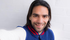 Courtois talks up Man Utd striker Falcao