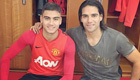 Photos: Di Maria, Falcao all smiles in Man Utd training session