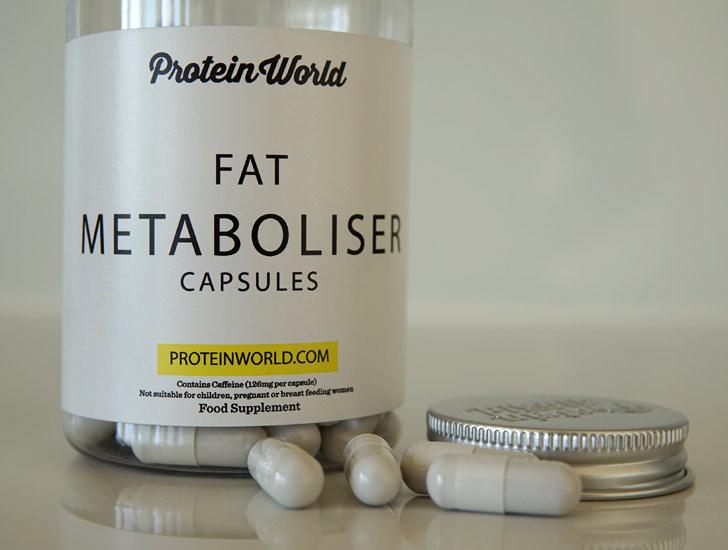 Fat Metaboliser Capsules Protein World