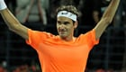 Federer in seventh heaven after beating Djokovic