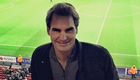 PHOTO: Federer watches Arsenal thriller