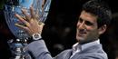ATP World Tour Finals: Federer & Djokovic scrub up to receive awards